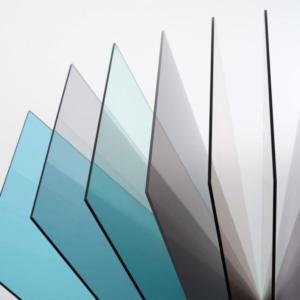 Цвета поликарбоната монолитной структуры